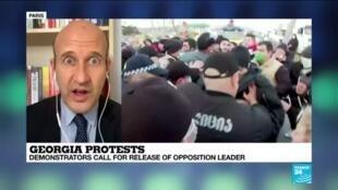 2021-02-24 09:36 Georgian police detain opposition leader as political crisis deepens