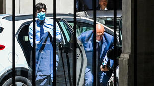 Italy's Health Minister Roberto Speranza was among those to face questioning