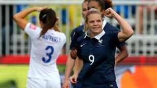 L'unique but français a été inscrit par Eugénie Le Sommer.