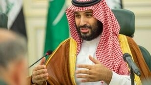 Saudi Crown Prince Mohammed bin Salman, pictured in April 2019, met with General Mohamed Hamdan Dagalo, the deputy chief of Sudan's transitional military council