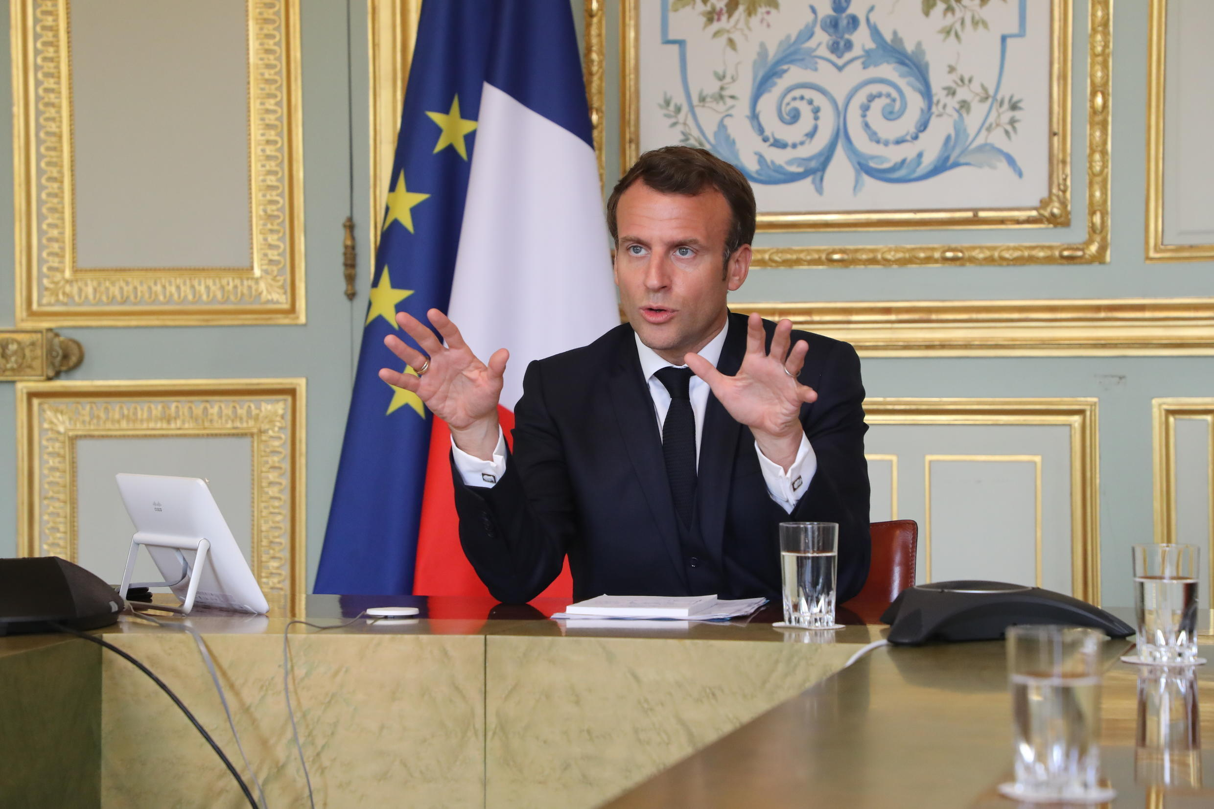 This will be the third time Macron has addressed the nation live on television since the crisis began