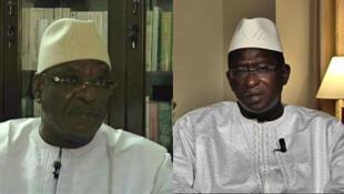 Ibrahim Boubacar Kaïta et Soumaïla Cissé