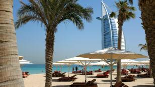 Une plage de Dubaï, en mai 2015