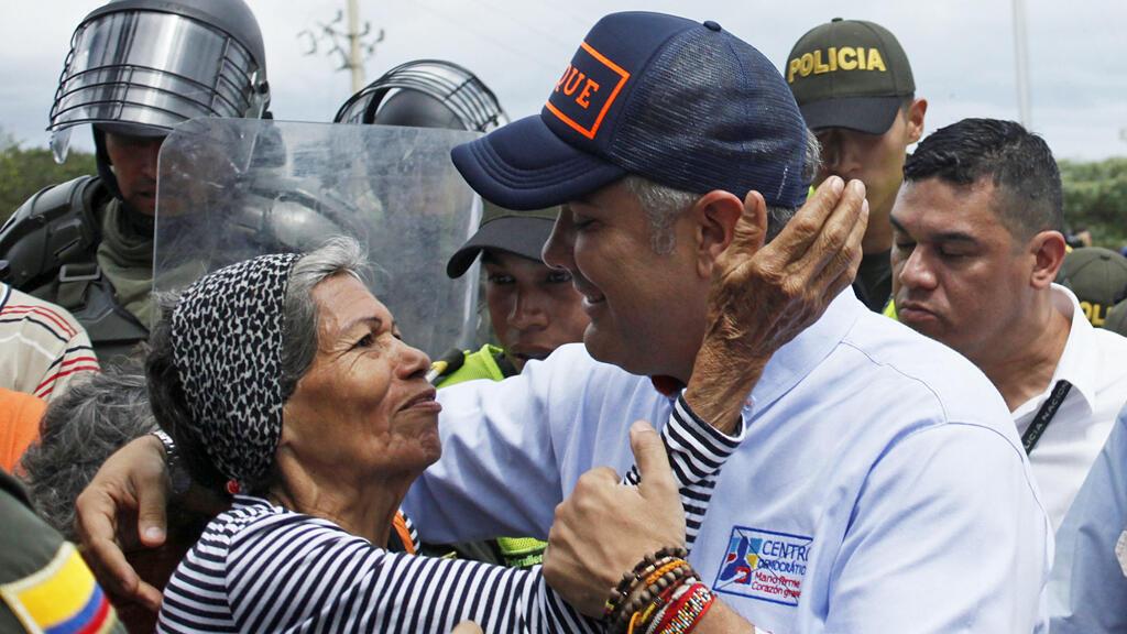 Iván Duque, el candidato de la derecha, es el nuevo presidente de Colombia.