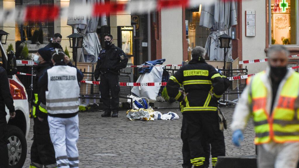 Allemagne : des piétons percutés par une voiture à Trèves, plusieurs victimes