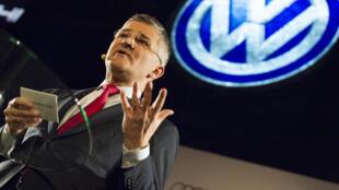 Michael Horn, PDG de Volkswagen America, témoigne jeudi devant le Congrès américain