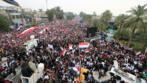 العراق: مظاهرة حاشدة ضد الوجود الأمريكي والصدر يدعو إلى إلغاء الاتفاقات الأمنية
