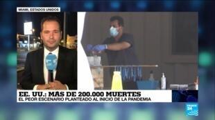 Covid-19, La Semana en América - 200mil casos EE. UU.