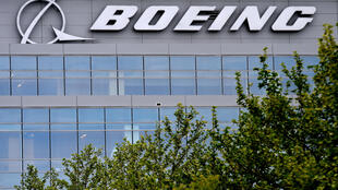 Siège de Boeing, à Arlington, en Virgine, le 29 avril 2020
