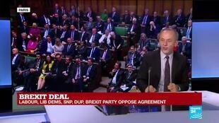 """2019-10-17 14:07 Brexit Deal: """"There's a general Brexit burn-out, not only in the U.K."""""""