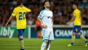 Mathieu Valbuena, à l'issue de leur défaitre contre Arsenal (2-1)