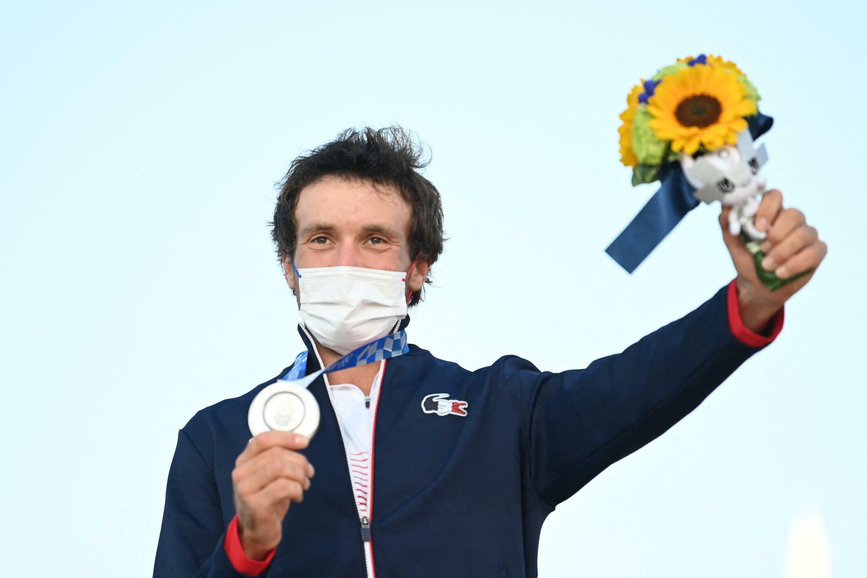 Thomas Goyard a remporté une médaille d'argent en voile.