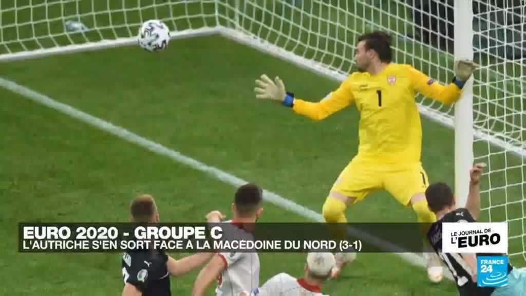 2021-06-13 23:53 Euro-2021 : le Petit Poucet macédonien résiste, mais cède finalement face à l'Autriche (3-1)