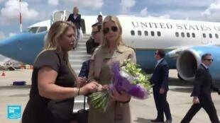 إيفانكا ترامب تصل إسرائيل لتدشين مقر السفارة الأمريكية الجديدة في القدس.