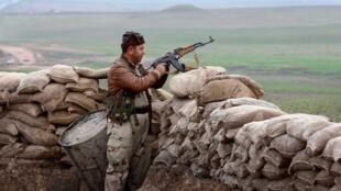 نقطة مراقبة تابعة لقوات ''البشمركة'' في شمال العراق