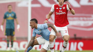 Arsenal defender David Luiz shone against Manchester City