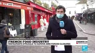 2021-01-08 14:10 The impact of the pandemic on French food, tourism industries