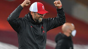 Cloud nine: Jurgen Klopp's Liverpool have taken nine points from their opening three Premier League games