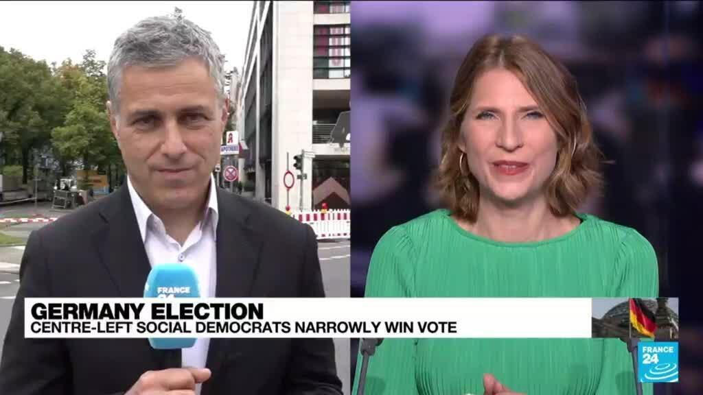 2021-09-27 11:01 German SPD seeks three-way alliance to replace Merkel-led coalition