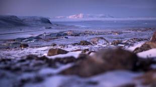 La base de Thulé, base militaire américaine située au Groenland.