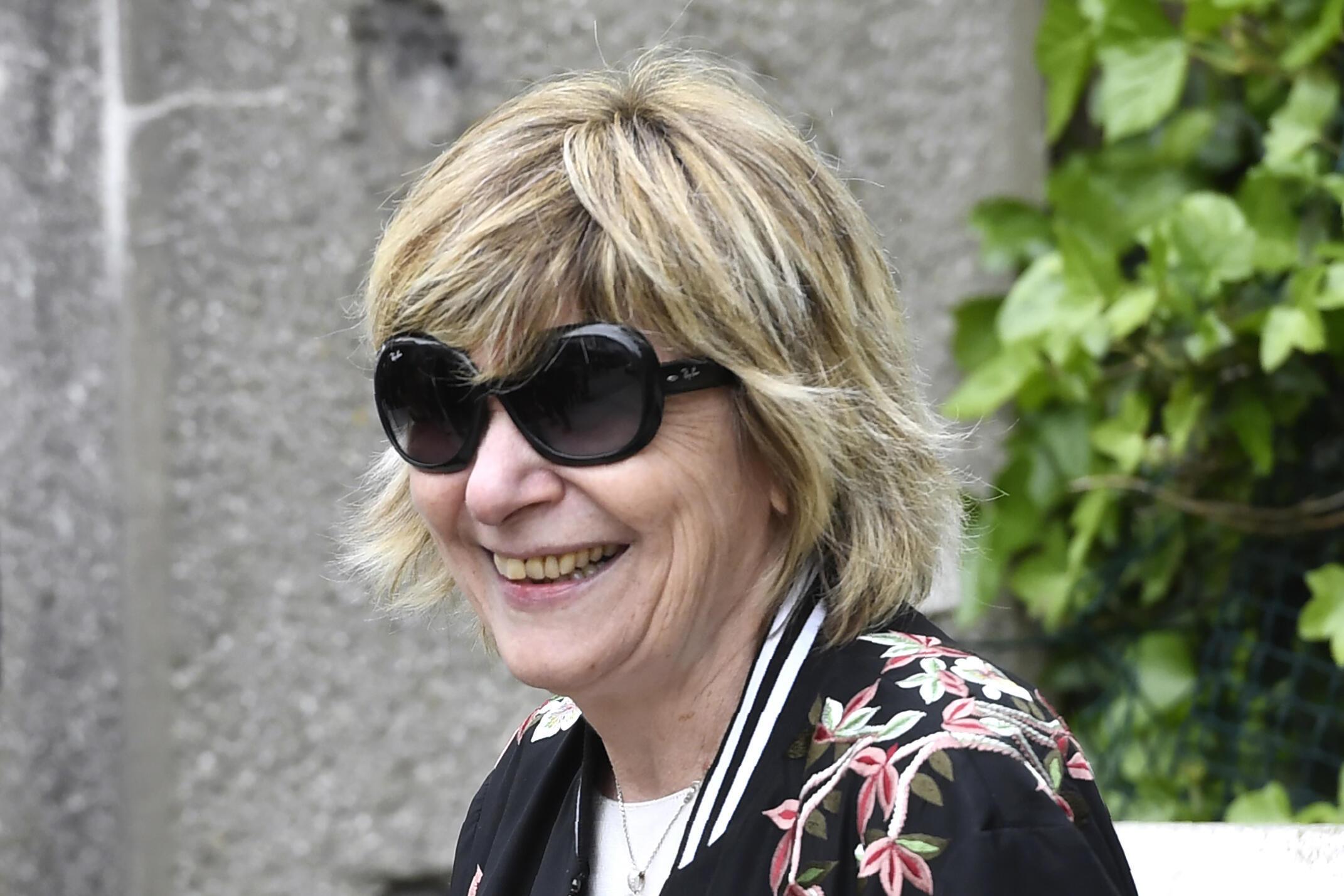 Mimi Marchand, le 22 avril 2017 à Paris