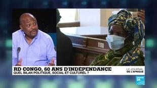 2020-06-30 21:46 60 ans d'indépendance de la RD Congo : quel bilan politique, social et culturel ?