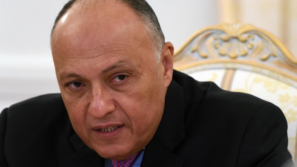 El ministro de Relaciones Exteriores de Egipto, Sameh Shoukry, llegará a Israel el domingo