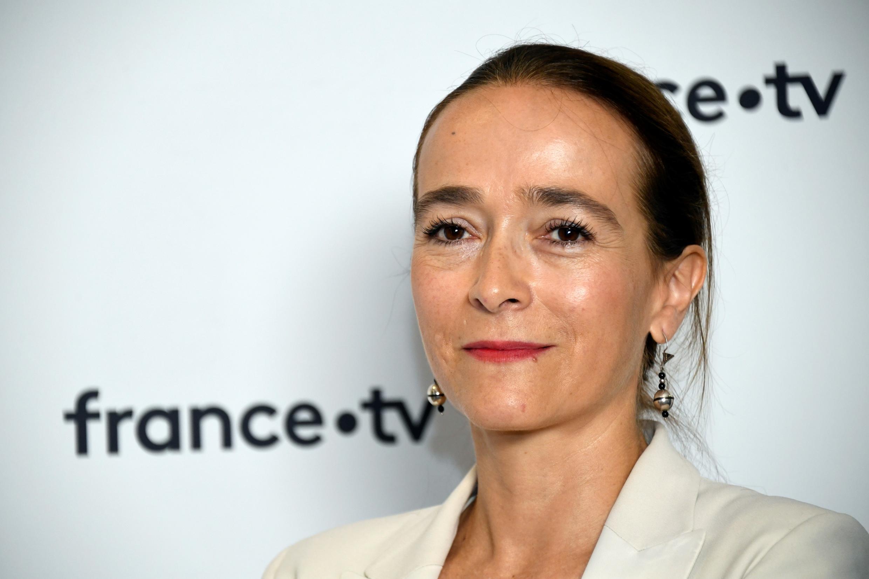 La présidente  du groupe France Télévisions, Delphine Ernotte, en 2018.