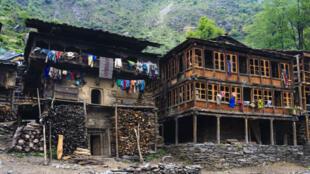 L'architecture traditionnelle du village de Malana.