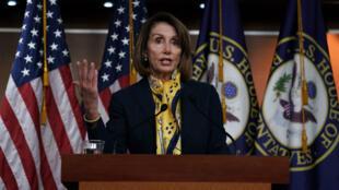 Nancy Pelosi, le 24 janvier 2019, à Washington.