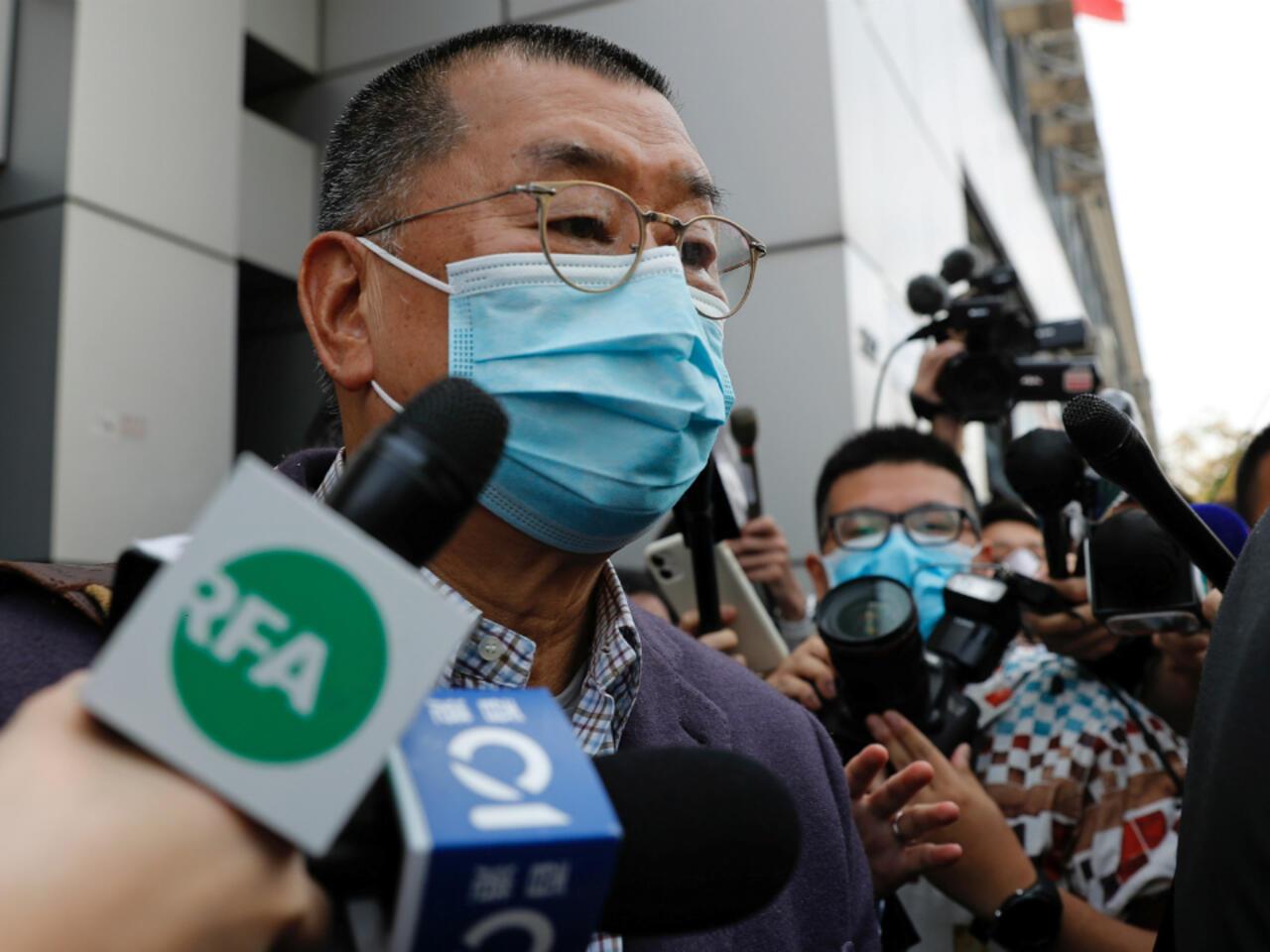 Jimmy Lai, millonario y activista prodemocracia, arrestado en Hong ...
