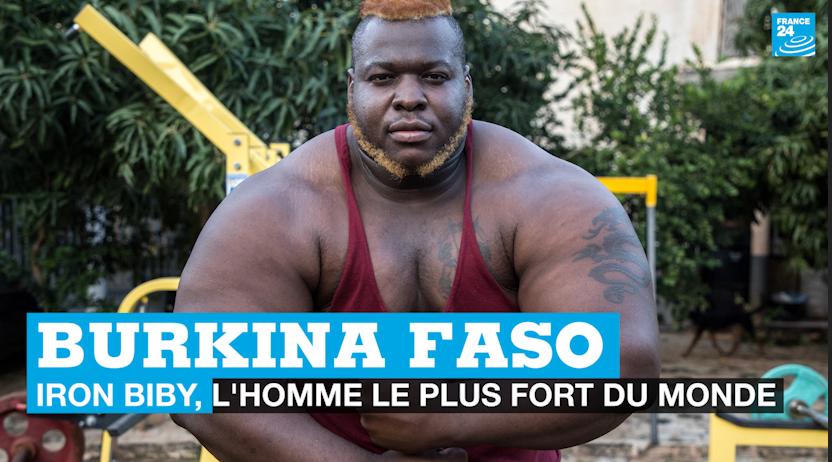 Burkina Faso : Iron Biby, l'homme le plus fort du monde