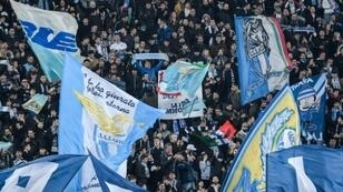 Lazio's hardcore supporters have a long history of far-right politics