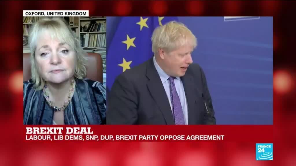 """2019-10-17 14:46 Brexit deal: """"Heads of state in Brussels will be relieved and will want to go ahead"""""""