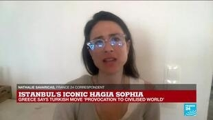 2020-07-10 18:01 Istanbul's Hagia Sophia reconversion to a mosque, 'provocation to civilised world', Greece says