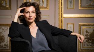 Audrey Azoulay lorsqu'elle était ministre française de la Culture, le 9 mai 2016.