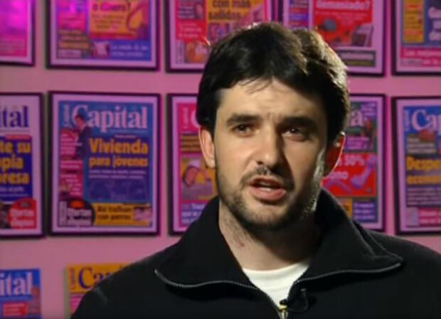 Carlos Ribagorda, le journaliste qui a révélé le scandale de triche de l'Espagne aux Jeux paralympiques de 2000.