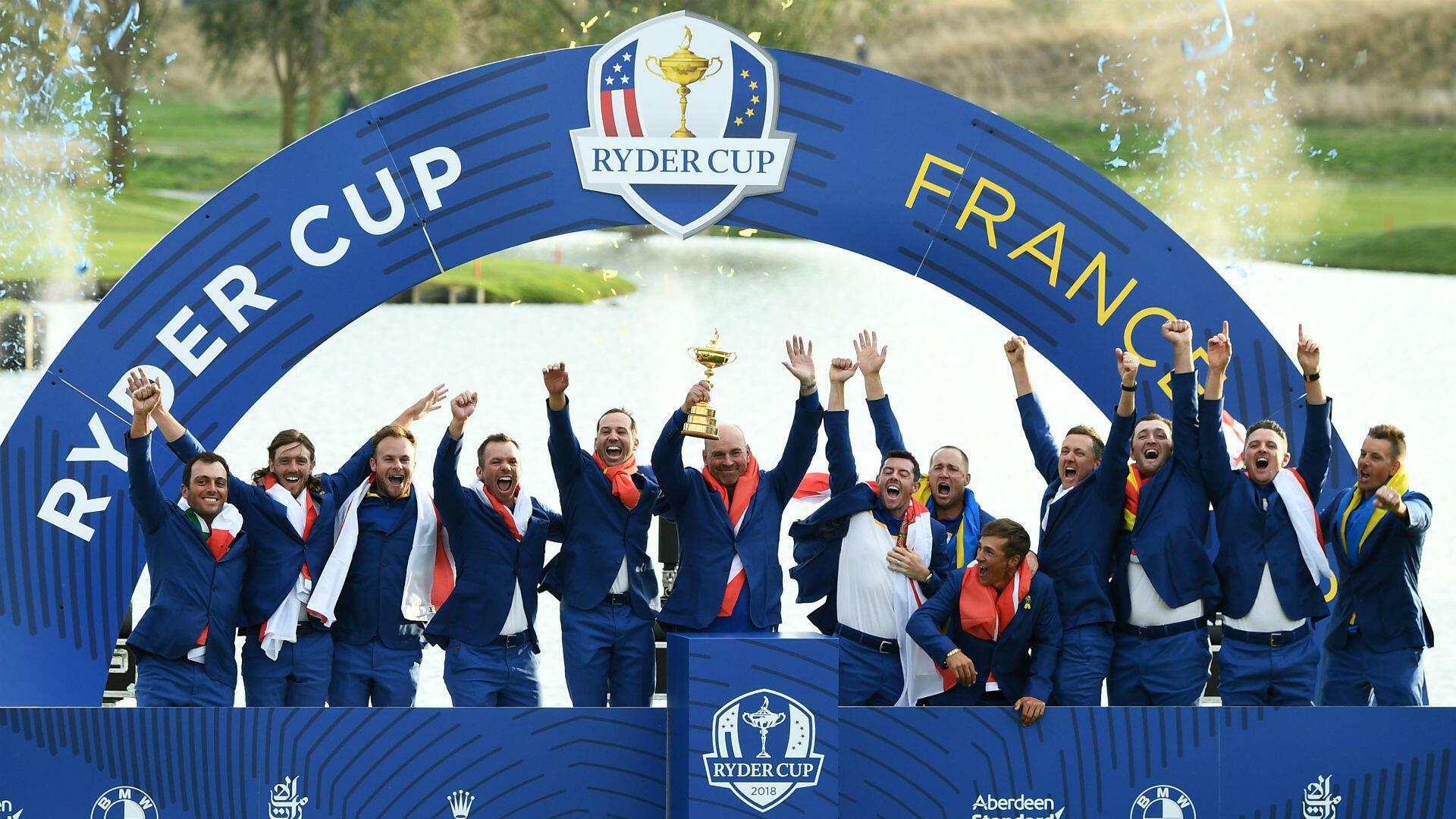 Grande première pour la France, qui accueille l'édition2018 de la RyderCup. Et si la Team Europe ne compte aucun golfeur de l'Hexagone dans ses rangs, elle triomphe brillamment des États-Unis, plombés par un Tiger Woods fantomatique.