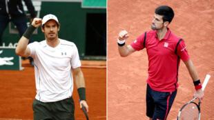 Andy Murray et Novak Djokovic rêvent de leur premier titre à Paris.