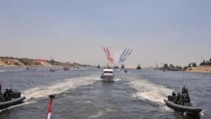 المجرى الجديد لقناة السويس يبلغ 72 كلم ويهدف لمضاعفة القدرة الاستيعابية لحركة الملاحة في القناة