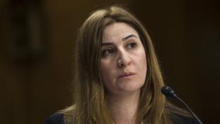 La députée irakienne Vian Dakhil photographiée au Congrès américain le 9 décembre 2014.