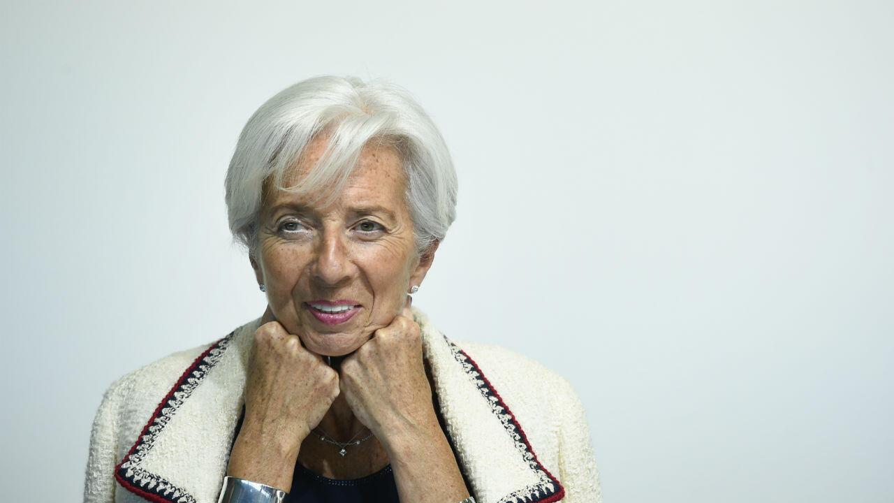 Christine Lagarde a présenté sa démission du FMI, mardi 16—juillet.