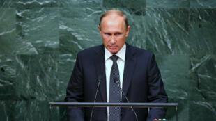 بوتين يتحدث أمام الجمعية العامة للأمم المتحدة بنيويورك