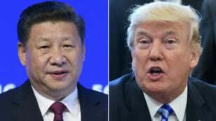 الرئيسان الأمريكي والصيني.