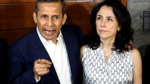 Former Peru president Ollanta Humala and his wife Nadine Heredia are accused of laundering assets