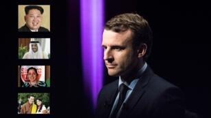 Emmanuel Macron, chef d'État à moins de 40 ans.
