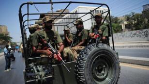 قوات من الجيش الباكستاني