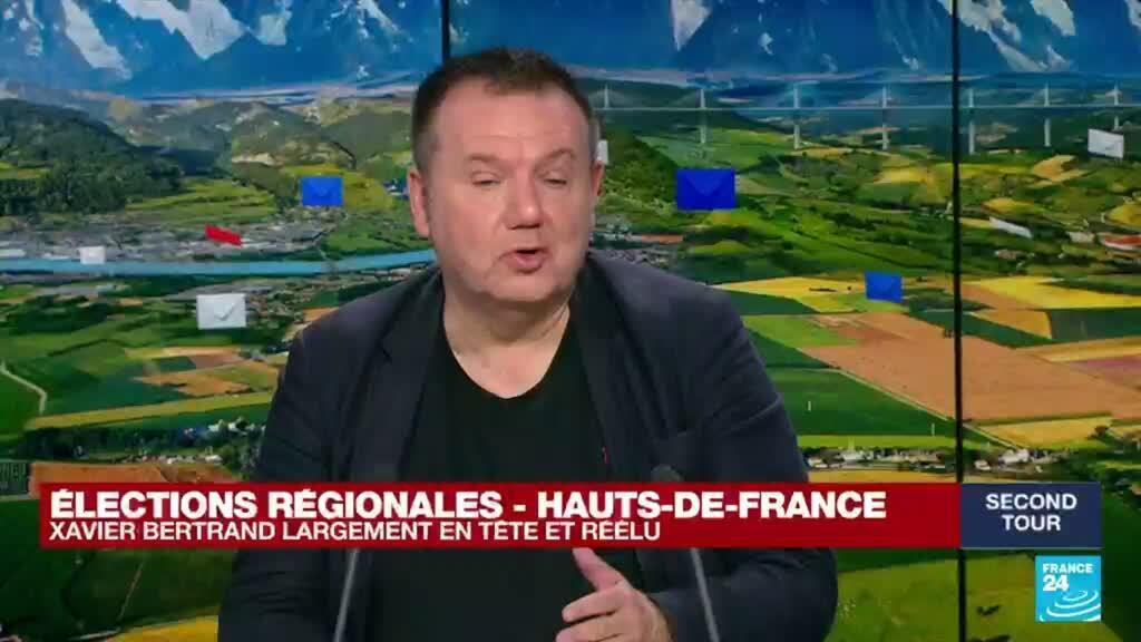 """2021-06-27 20:09 Elections régionales en France : Xavier Bertrand prêt à aller à """"la rencontre de tous les Français"""""""