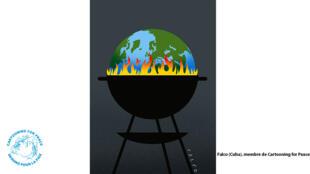 La question du réchauffement climatique a inspiré l'artiste cubain Falco.