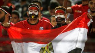 لقطة من مباراة مصر أمام جنوب أفريقيا ضمن فاعليات كأس الأمم الأفريقية تحت 23 عاما في ستاد القاهرة الدولي، القاهرة، مصر، 19 نوفمبر/ تشرين الثاني 2019.